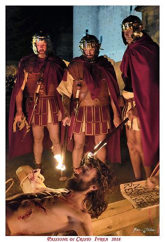 Passione di Cristo - Legione Tebea - Passione nelle vie di IVREA - La città dello storico carnevale e dell' UNESCO
