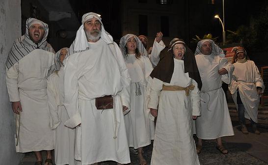 Passione di Cristo di IVREA - Passio Christi di IVREA e Canavese - Sacra Rappresentazione Medievale - Popolo di Gerusalemme