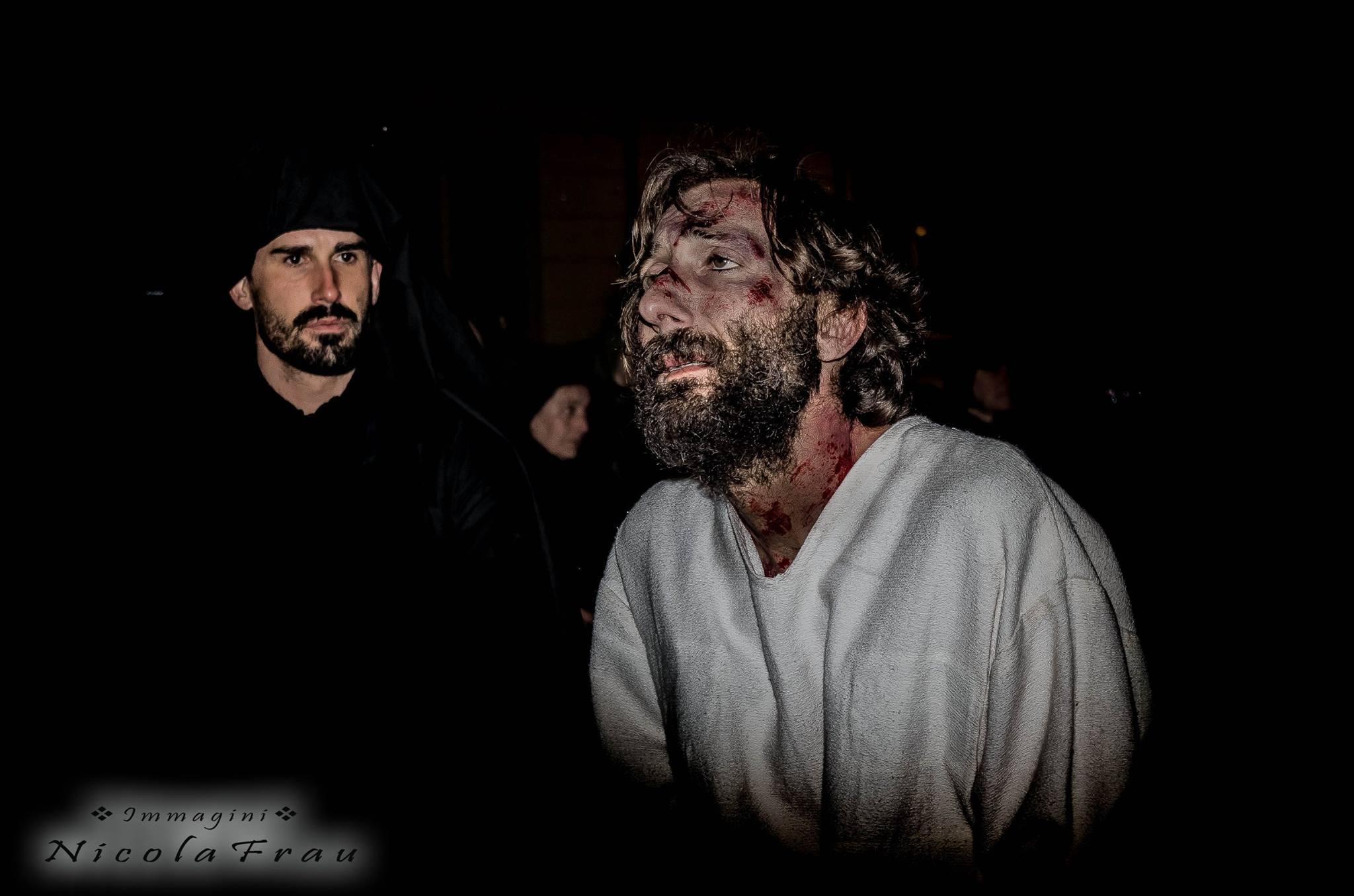 Passione di Cristo Ivrea 2017 - UNESCO - Nicola Frau (Sacerdote Sinedrio)