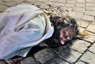 Passione di Cristo IVREA - la terza caduta