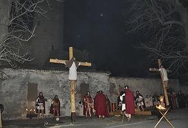 Passione di Cristo IVREA - levato dalla croce deposizione