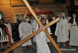 Inizia il Calvario di Gesù a Ivrea - Passione di Cristo