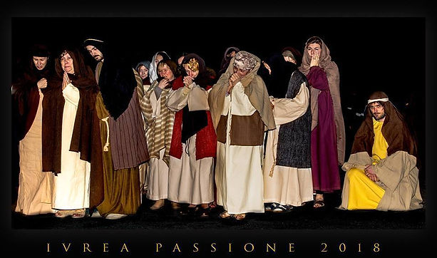 Passione di Cristo di IVREA - Passio Christi di IVREA e Canavese - Sacra Rappresentazione Medievale
