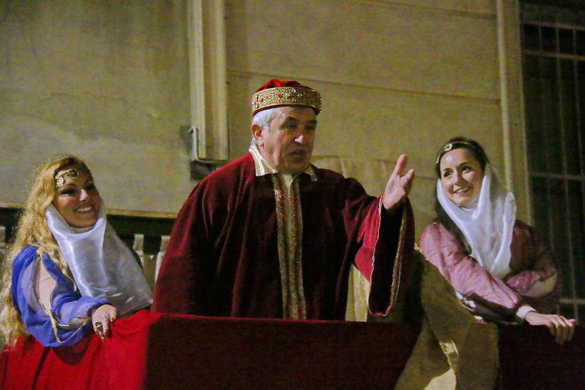 Passione di Cristo Ivrea 2017 - UNESCO - Fulvio Lavarino (Erode e le cortigiane)