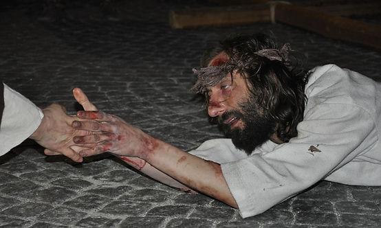Passione di Cristo di IVREA - Passio Christi di IVREA e Canavese - Sacra Rappresentazione Medievale - Il Cristo