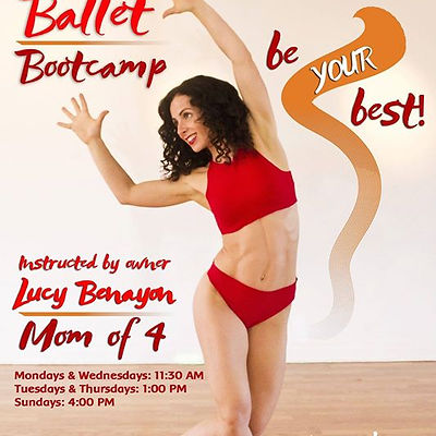 BALLET BOOT CAMP! ADDITIONAL CLASS!!_TUE