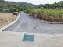 農道改良舗装工事
