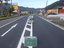 国道58号舗装補修工事