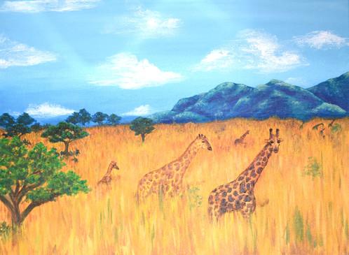 A Family of Giraffes