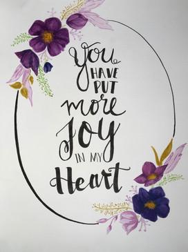 More Joy | Psalm 4