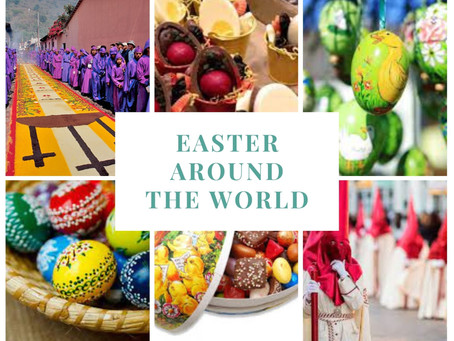 Put All Your Colorful Eggs in a Basket — Easter Around the World