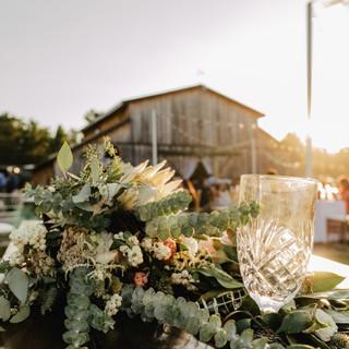The Barn & Bridal Bouquet