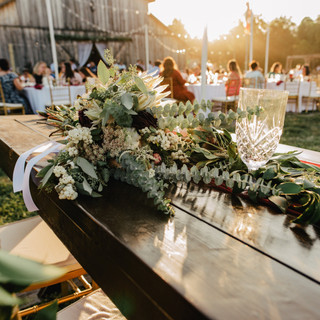 The Barn & Sweethearts Table