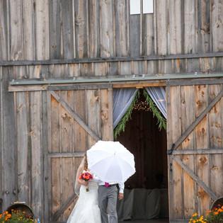 Bride and Dad walking