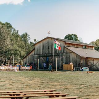 The Barn & Outdoor Reception
