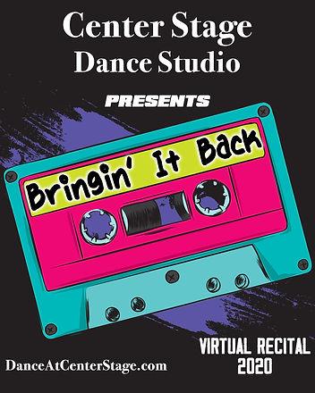 Bringin' It Back - Virtual Recital 2020