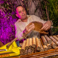 Ball and Chain cigar roller entertainmen