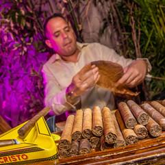 Ball and Chain cigar roller entertainmen