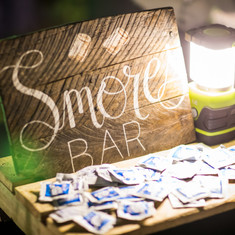 smores bar s'mores interactive food f&B