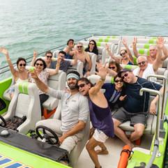 thriller speedboat biscayne bay fun day