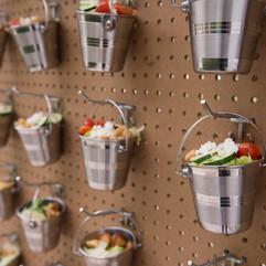 highboy salad wall food buffet pool (26)