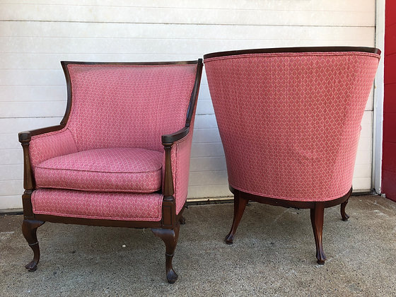 His & Hers- Bowed Back Chairs