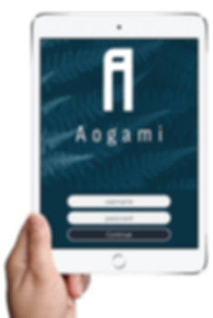 Aogami iPad Login.png