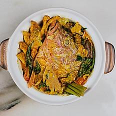 Curry Fish Head (3-4 pax)
