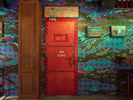 """Witness the Rebirth of The Dragon Chamber. """"Secret Society"""" Restaurant  Returns with New Dishes"""