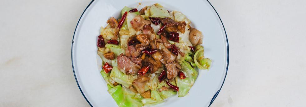 Chongqing Cabbage Stir Fry