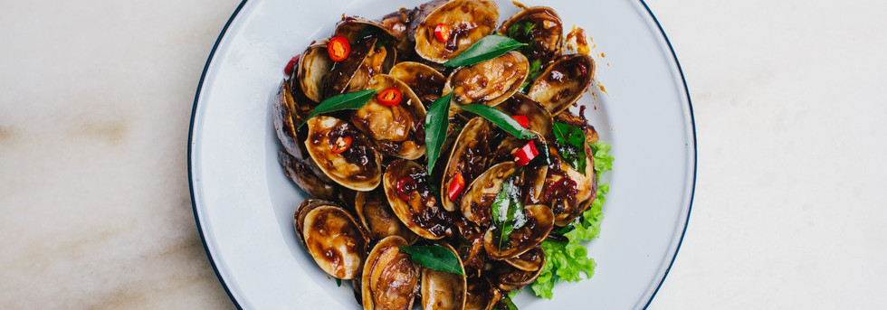 Sichuan Spicy Clams