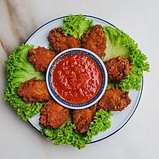 Ha Cheong Gai - Prawn Paste Fried Chicken (6 pcs)
