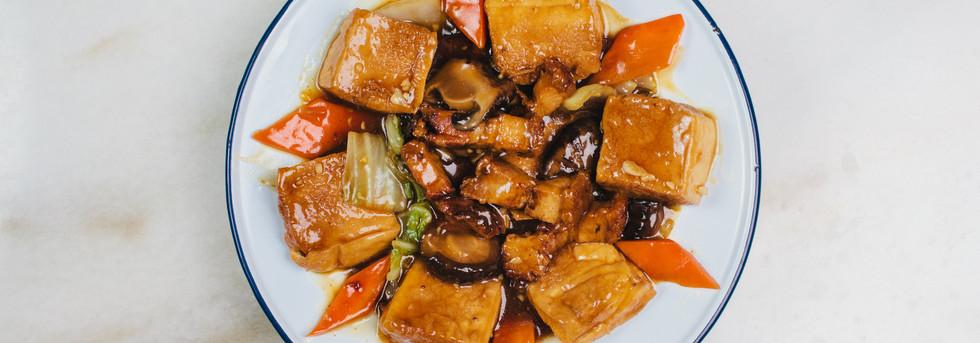 Pot Braised Pork Belly & Tofu