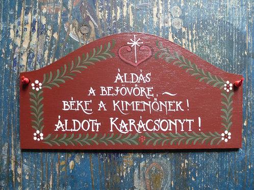 Karácsonyi ajtó tábla 3.800 Ft