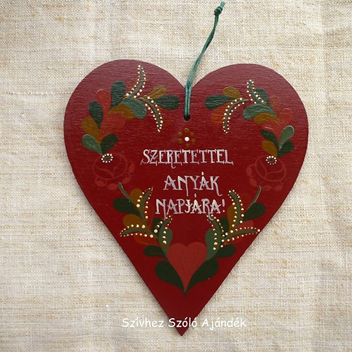 Hartai virágos szív