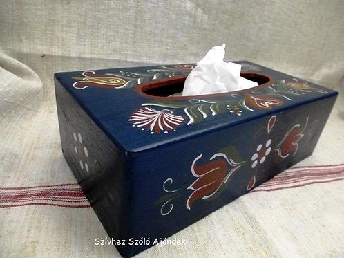Papírzsebkendőtartó doboz