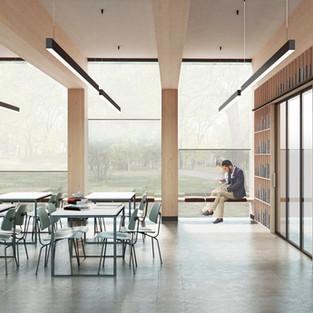 New library in Lorenteggio