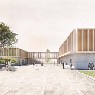 New school complex  Carracci