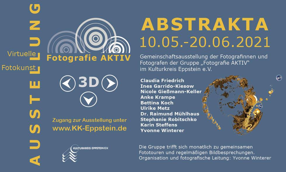 """Virtuelle 3D Ausstellung """"Abstrakta"""" - demnächst"""
