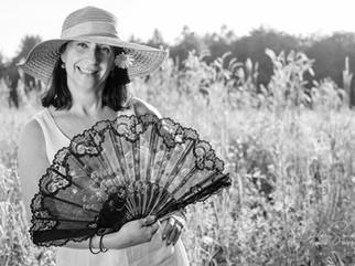 Blumenwiese mit Sabine D.