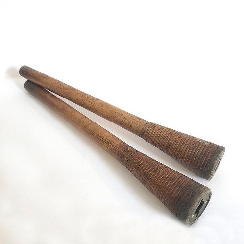 Vintage Wooden Spindles