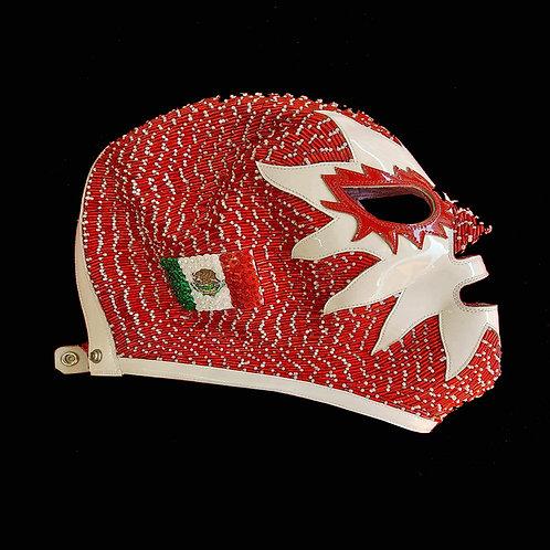 Máscara Profesional Solar tejida a mano edición - México USA