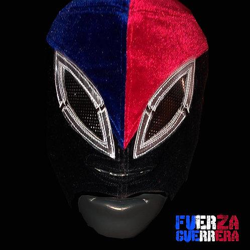 Máscara Profesional Original  Terciopelo Fuerza Guerrera