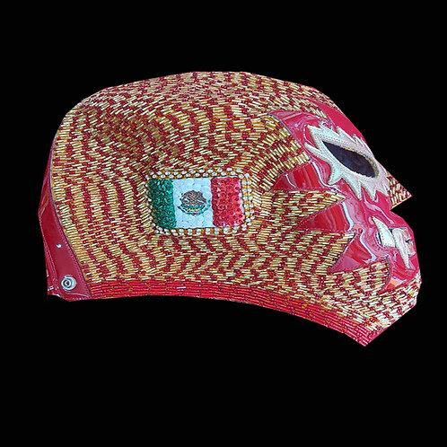Máscara Profesional Solar tejida a mano edición - México Japón
