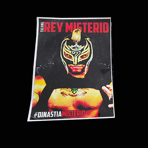 Poster Oficial The King Rey Misterio