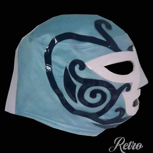 Máscara Profesional Retro Original Huracán Ramírez , diseño retro