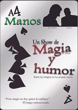 Show de magia de cerca