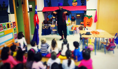 Taller de magia en centros educativos