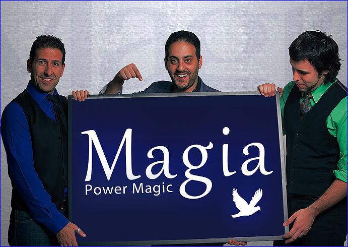 Ilusionistas espectaculo power magic