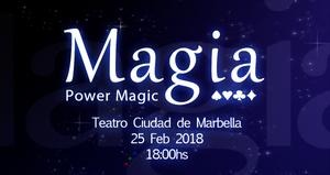 Espectáculo magia teatro marbella